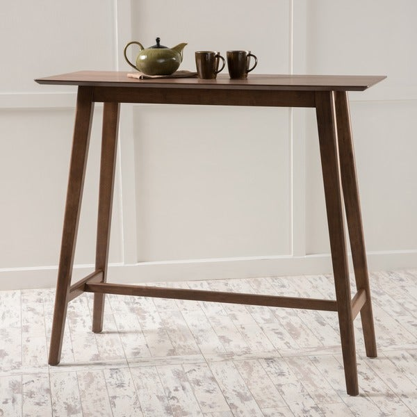 Christopher Knight Home Moria Walnut Finish Wood Bar Table