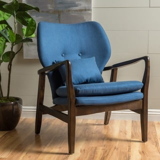 Christopher Knight Home Mid Century Haddie Fabric Club Chair