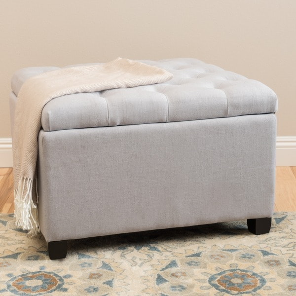 Kane Tufted On Storage Ottoman By Christopher Knight Home