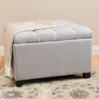 Christopher Knight Home Kane Tufted Button Storage Ottoman