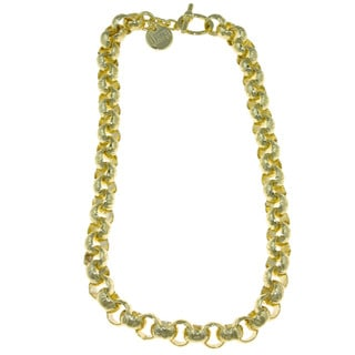 Isla Simone - 18 Karat Gold Plated Rolo Chain Necklace