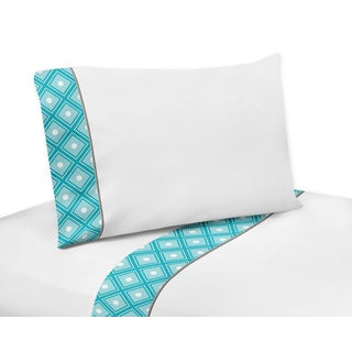 Sweet Jojo Designs Mod Elephant Sheet Set
