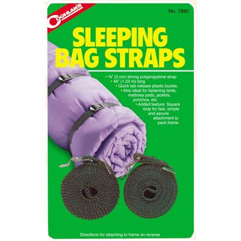 "Coghlans 7890 3/4"" X 48"" Sleeping Bag Straps 2-count"