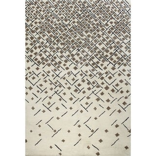 Angelica Tufted Wool Area Rug (9' x 12')