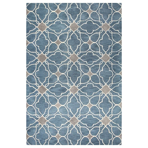 Alpine Contemporary Hand Tufted Area Rug
