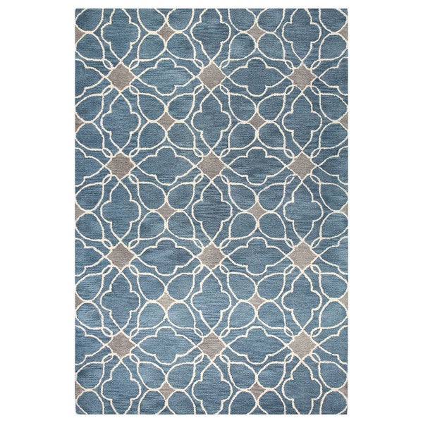 Alpine Contemporary Hand Tufted Area Rug. Opens flyout.