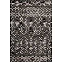 "Skylar Tufted Wool Area Rug - 7'6"" x 9'6"""