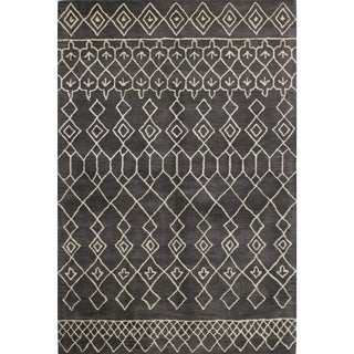 Skylar Multicolor Wool Tufted Area Rug (9' x 12') - 9' x 12'