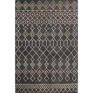 Skylar Multicolor Wool Tufted Area Rug (9' x 12') (Option: Black) https://ak1.ostkcdn.com/images/products/12882705/P19642090.jpg?impolicy=medium