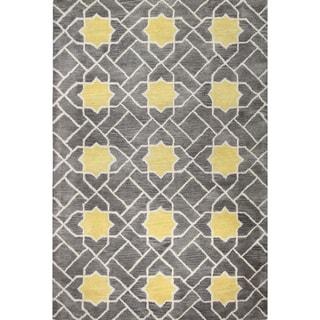 Heather Wool Tufted Area Rug (8' x 10') - 8' x 10'