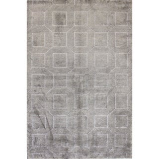 Bethany Knotted Wool/Viscose Area Rug (9' x 12')