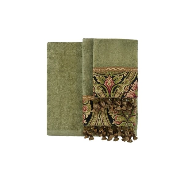 Sherry Kline Art Noveau 3-piece Decorative Towel Set