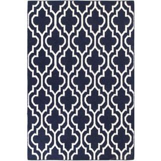 Makayla Woven Wool Area Rug (9' x 12') - 9' x 12'