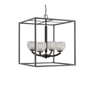 Woodbridge Lighting 14324MEB Mirage 4-light Pendant Chandelier