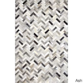 Adam Woven Cowhide Area Rug 9 X 12
