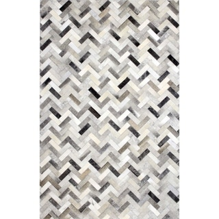 Adam Woven Leather Area Rug (9' x 12')