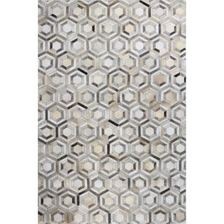 Timothy Woven Leather Area Rug (9' x 12')