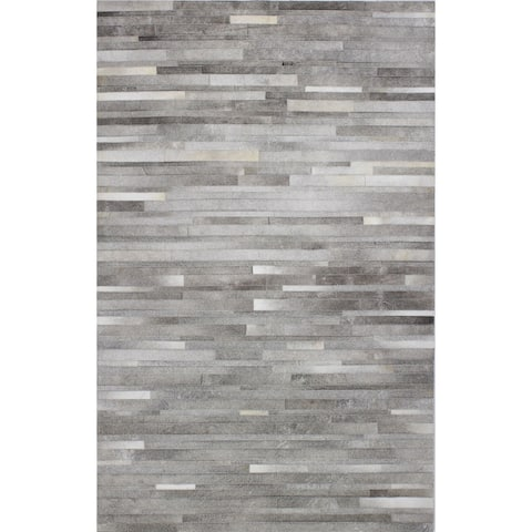 Tucker Contemporary Hand Stitched Area Rug