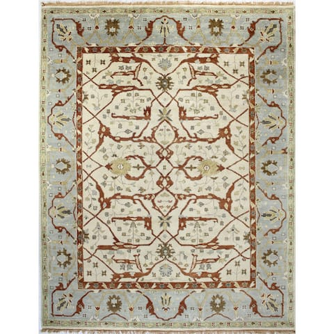 Dawson Transitional Hand Knotted Area Rug