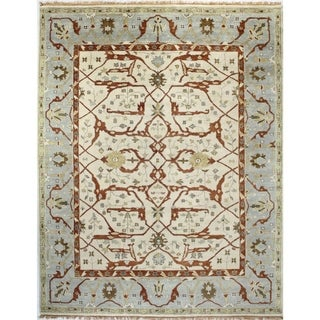 Knotted Wool Vanessa Area Rug (9' x 12')