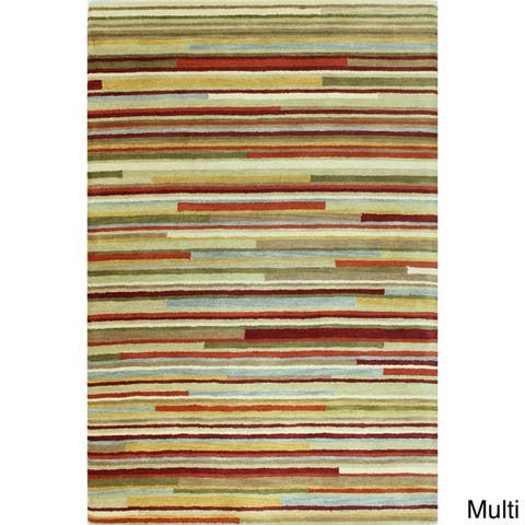 Caldwell Contemporary Hand Tufted Area Rug