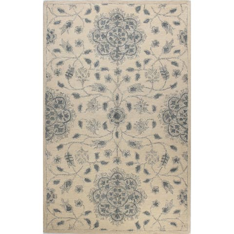 Nottingham Transitional Hand Tufted Area Rug
