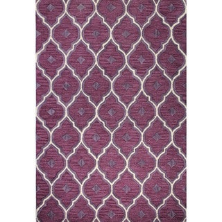 Kylie Multicolored Wool and Cotton Hand-tufted Area Rug (9' x 12')