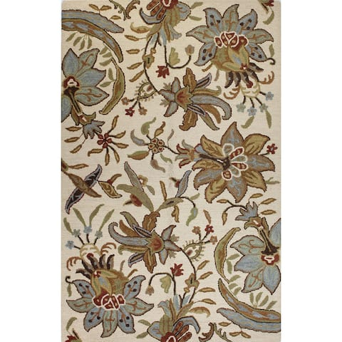 Wallace Transitional Hand Tufted Area Rug