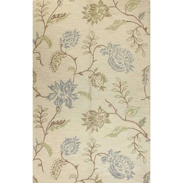 Stafford Transitional Hand Tufted Area Rug. Opens flyout.