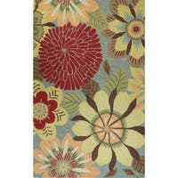 "Norma Tufted Wool Area Rug - 8'6"" x 11'6"""