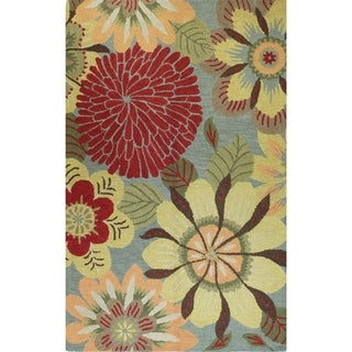 "Tufted Wool Norma Area Rug (7'6 x 9'6) - 7'6"" x 9'6"""