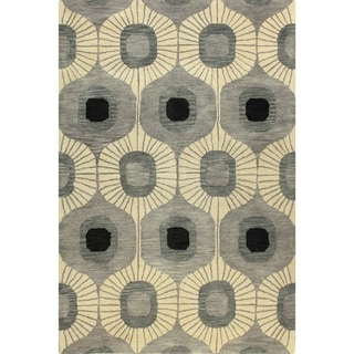 Tufted Multicolored Wool Britanny Area Rug (8' x 10')