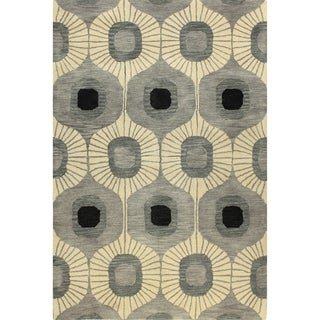 Britanny Tufted Wool Area Rug (9' x 12')