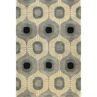 Britanny Tufted Wool Area Rug (9' x 12') - 9' x 12'