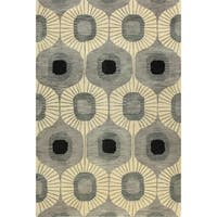 Britanny Tufted Wool Area Rug - 9' x 12'