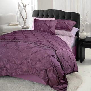 Diamond Pintuck Twin-size 3-piece Comforter Set