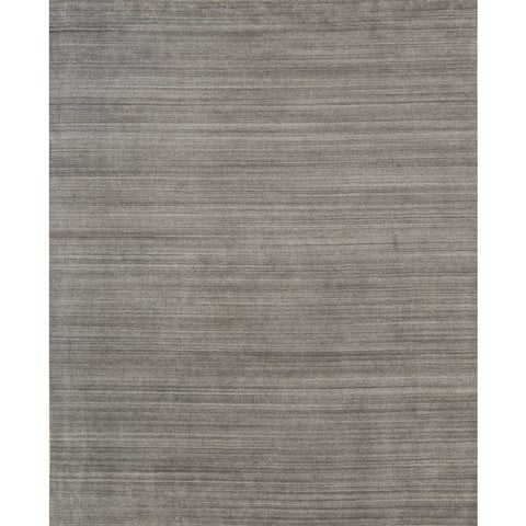 Pacific Rugs Grey Wool/Viscose Hand-loomed Urban Area Rug - 4'10 x 7'10