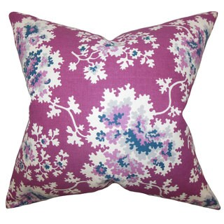 Danique Floral Euro Sham Purple