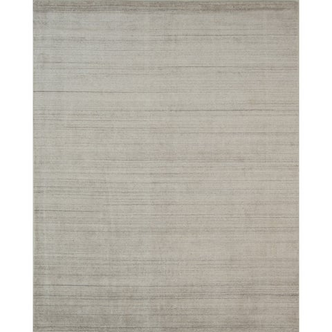 Pacific Rugs Ivory New Zealand Wool/Viscose Hand-loomed Rug - 9' x 12'