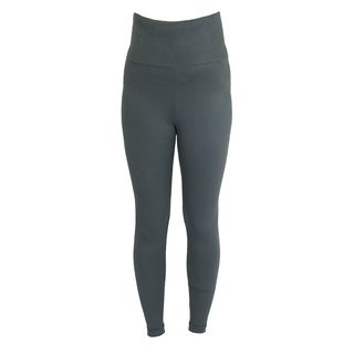 Proskins SLIM Charcoal Grey Fabricy Moisturizing Compression High-waist Leggings