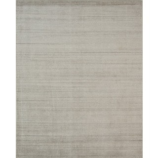 Pacific Rugs Wool/Viscose Ivory Hand-loomed Urban Area Rug (8' x 10')