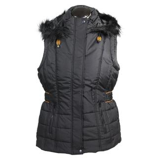 Totes Women's Polyester Quilted Insulated Hooded Vest