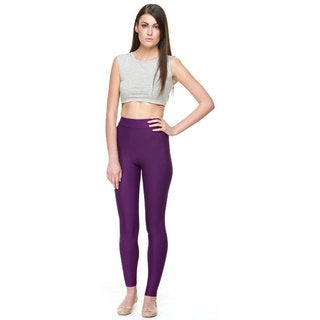 Proskins Slim Damson Purple Moisturizing Compression Leggings