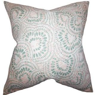 Glynis Floral Euro Sham Pink Green