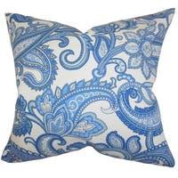 Galila Floral Euro Sham Blue