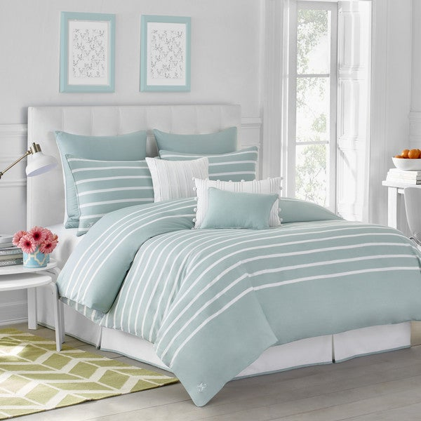 Jill Rosenwald Capri Stripe Comforter Set Free Shipping