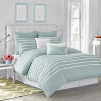 Havenside Home Delray Capri Stripe Comforter Set