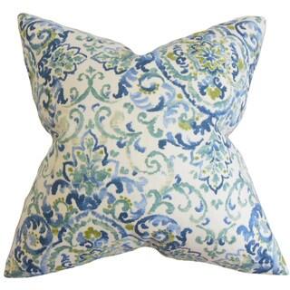 Halcyon Floral Euro Sham Blue Green