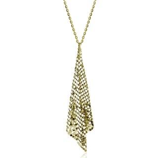 Isla Simone - 18 Karat Gold Electro Plated Specchio Cone Necklace