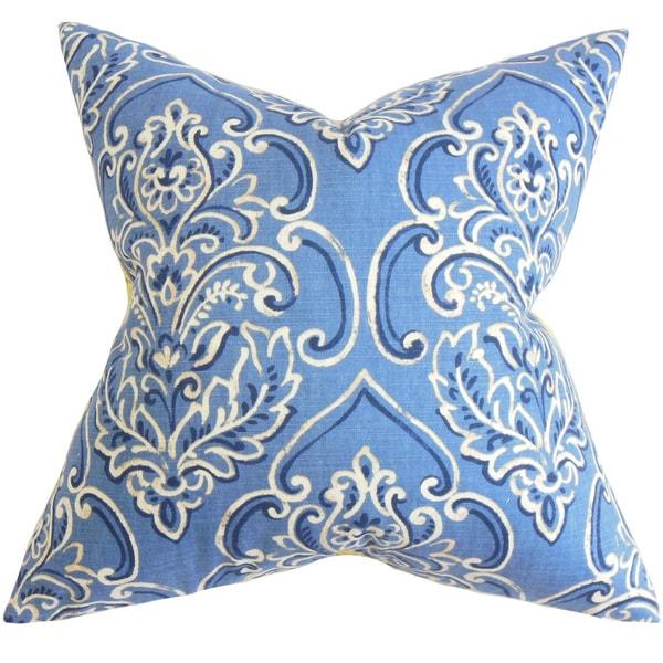Yonah Floral Euro Sham Blue